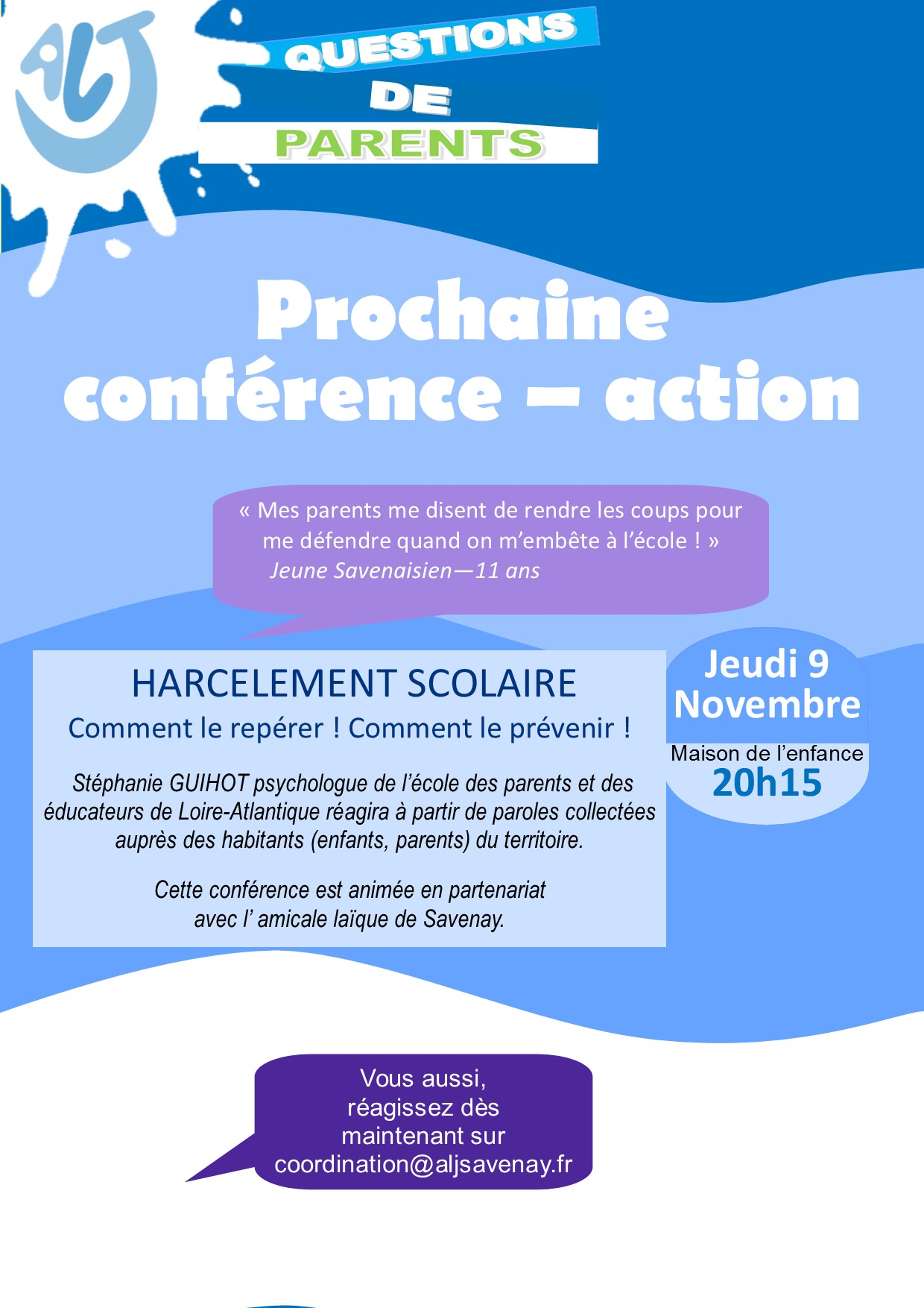 Fly conf action harcelement scolaire recto 2